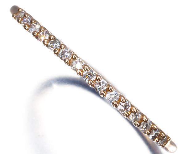 4℃ リング ダイヤモンド 10号 K18PG