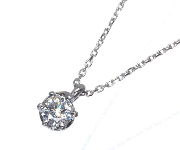 4℃ ヨンドシー ネックレス ダイヤモンド 0.222ct Pt995