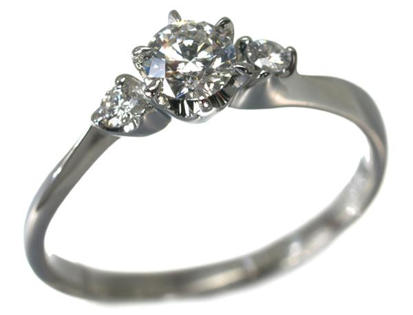 4℃ ヨンドシー リング 指輪 ダイヤ ダイヤモンド 0.262ct G IF 3EX H&C Pt950/プラチナ