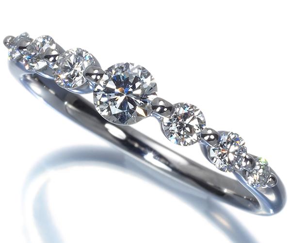 スタージュエリー リング ダイヤモンド 0.47ct 9号 Pt950