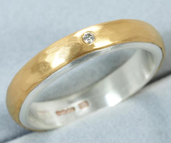 マルコムベッツ リング ダイヤモンド ハンマー 12.5号 K22/SV925