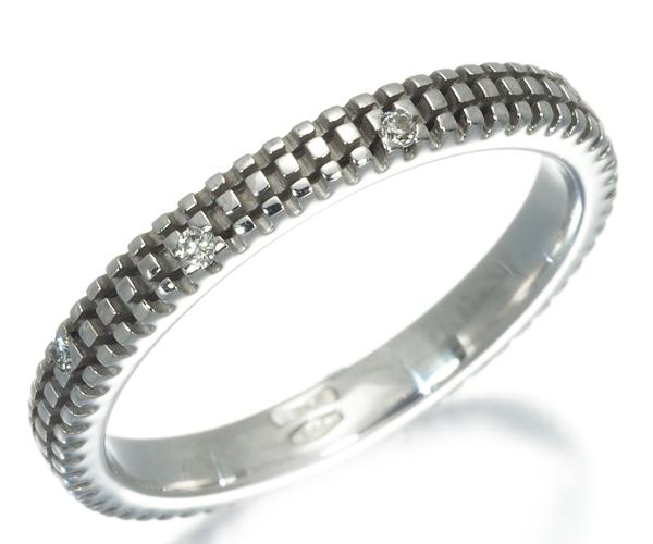 ダミアーニ リング ダイヤモンド メトロポリタン 9.5号 K18WG