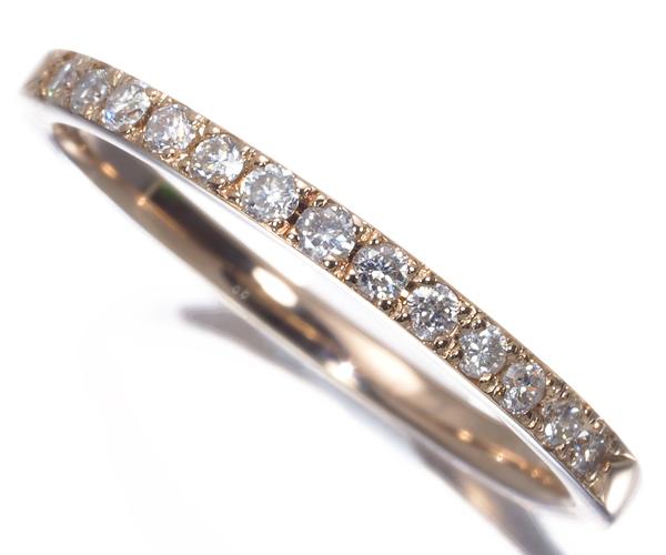 4℃ ヨンドシー リング ダイヤモンド 7号 K18PG