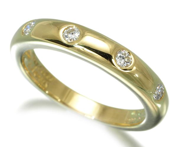 ヴァンクリーフ&アーペル リング ダイヤモンド アンフィニ エトワール 52号 K18YG