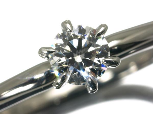 4℃ ヨンドシー リング 指輪  ダイヤ ダイヤモンド 0.23ct D VS2 EX H&Q Pt900/プラチナ