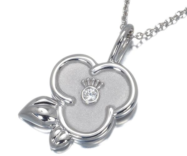 ハリーウィンストン ネックレス ダイヤモンド ツバキ・バイ・ハリー・ウィンストン Pt950