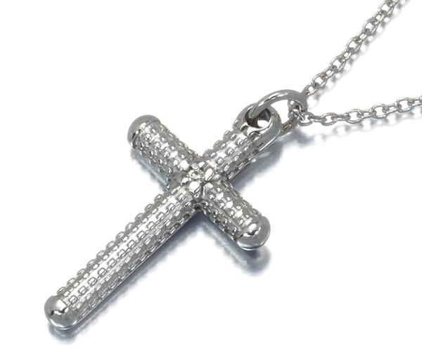 ダミアーニ ネックレス ダイヤモンド メトロポリタンドリーム クロス K18WG