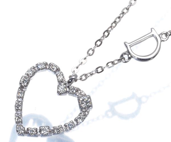 ダミアーニ ネックレス ダイヤモンド サンロレンツォ ハート K18WG