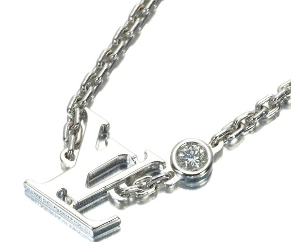ルイヴィトン ブレスレット ダイヤモンド パンダンティフ イディール ブロッサム K18WG
