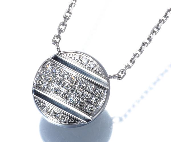 ショーメ ネックレス ダイヤモンド クラスワン パヴェ K18WG