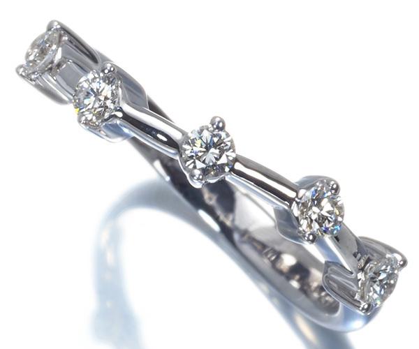 モニッケンダム リング ダイヤモンド 0.25ct K18WG