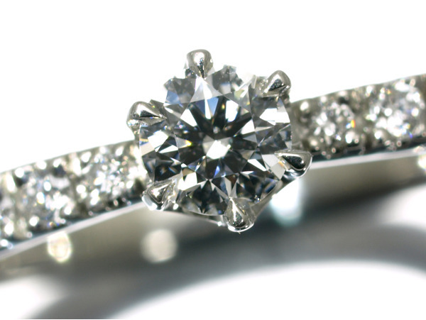 4℃ ヨンドシー リング ダイヤ ダイヤモンド 0.169ct Pt950