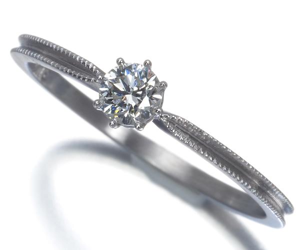 アーカー リング ダイヤモンド 0.15ct ヴィヴィアンクチュール ソルティアラウンド 9号 Pt900