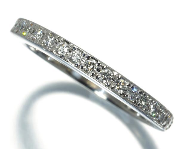 ポンテヴェキオ リング ダイヤモンド 0.25ct ハーフエタニティ Pt900