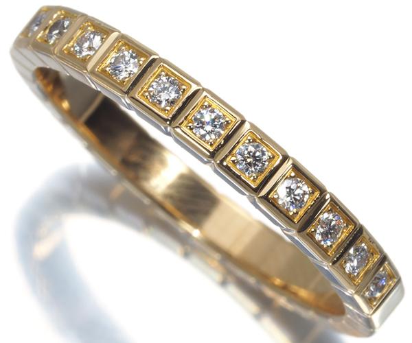 ショパール リング ダイヤモンド アイスキューブ ハーフエタニティ 11号 K18YG