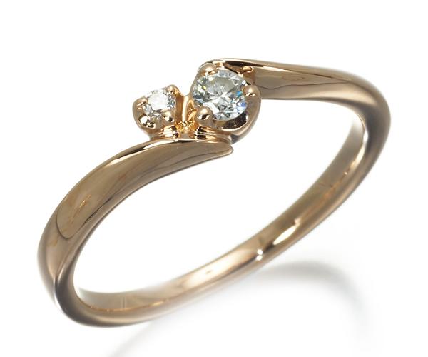 4℃ ヨンドシー リング ダイヤモンド 8号 K18PG