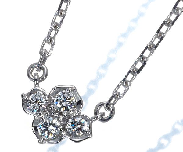 カルティエ ネックレス ダイヤモンド ヒンドゥ K18WG