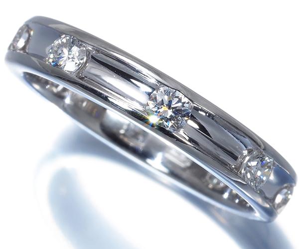 ハリーウィンストン リング ダイヤモンド ヴァオラ 14号 Pt950