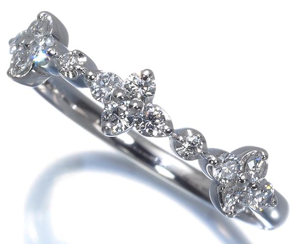 ヴァンドーム リング ダイヤモンド 0.31ct 11号 Pt950