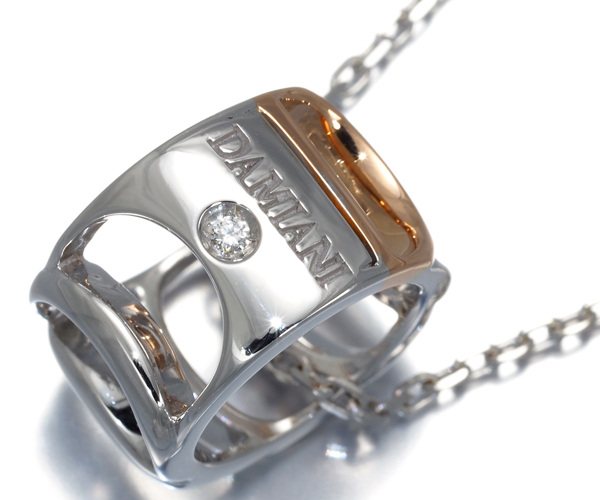 ダミアーニ ネックレス ダイヤモンド ダミアニッシマ K18WG/PG