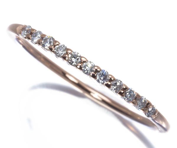 4℃ ヨンドシー リング ダイヤモンド 12号 K10PG