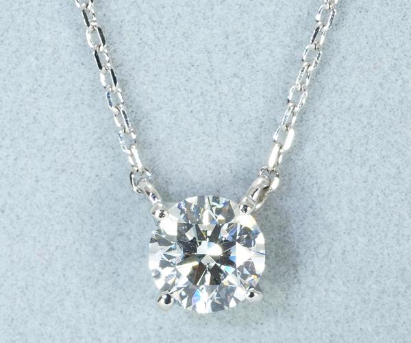 ヴァンドーム ネックレス ダイヤモンド 0.36ct E SI2 3EX Pt950/Pt850