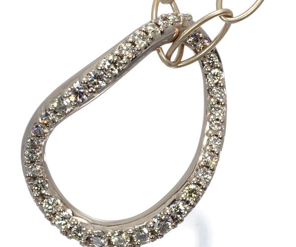 カシケイ ネックレス ダイヤモンド 0.50ct マーシネス K18BG