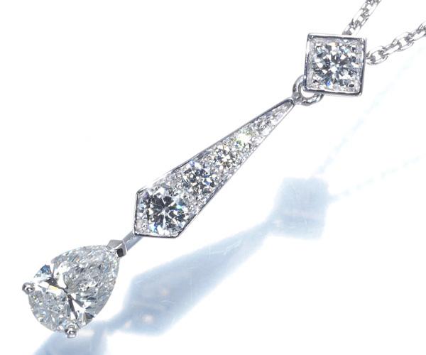 ショーメ ネックレス ダイヤモンド 0.42ct D VVS2 ジョゼフィーヌ K18WG