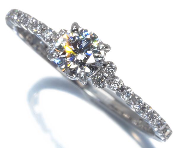 アーカー リング ダイヤモンド 0.308ct/0.10ct PEME アムール 10号 Pt900