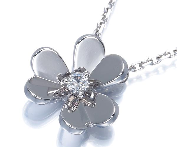 ヴァンクリーフ&アーペル ネックレス ダイヤモンド フリヴォル K18WG
