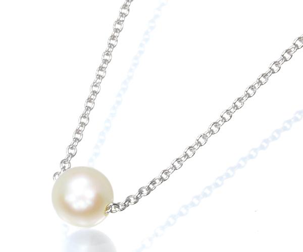 TASAKI タサキ ネックレス アコヤ真珠 パール 6.3mm珠 シルバー