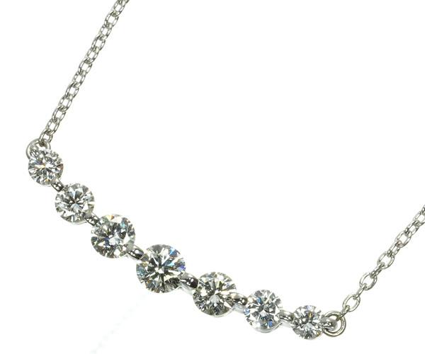 ヴァンドーム ネックレス ダイヤモンド 0.50ct ブランコ Pt900/Pt850