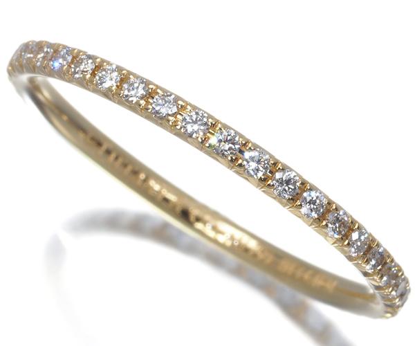 ティファニー リング ダイヤモンド メトロ フルエタニティ 10号 K18YG