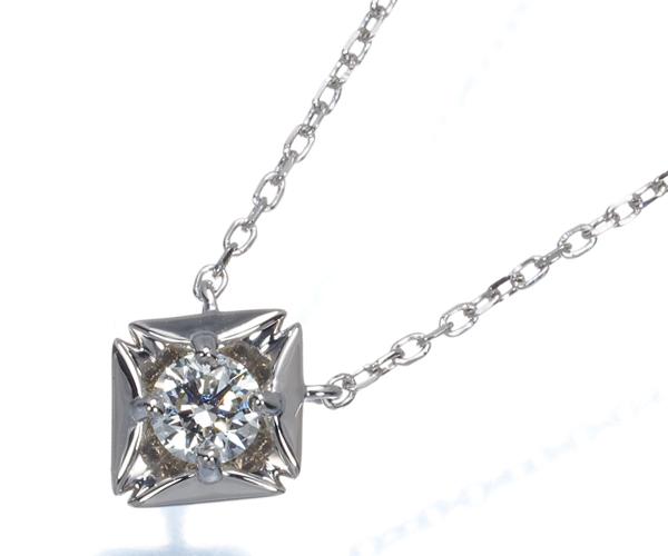 フォーエバーマーク ネックレス ダイヤモンド 0.15ct エターナル Pt900/Pt850