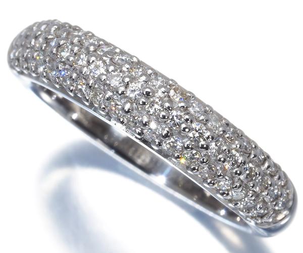 ヴァンドーム リング ダイヤモンド 0.44ct パヴェ Pt900