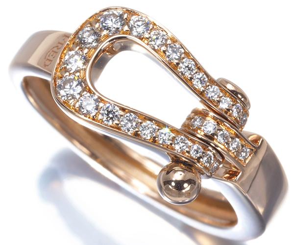 フレッド リング ダイヤモンド フォース10 ミディアム 50号 K18PG