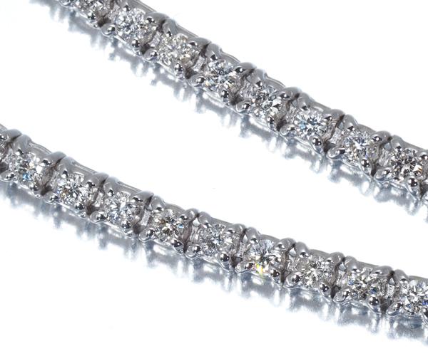 ポンテヴェキオ ブレスレット ダイヤモンド 1.07ct K18WG