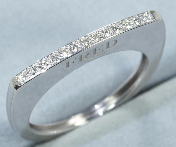 フレッド リング ダイヤモンド サクセス 52号 K18WG