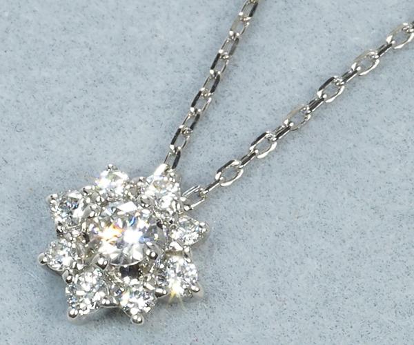 ヴァンドーム ネックレス ダイヤモンド Pt950/Pt850