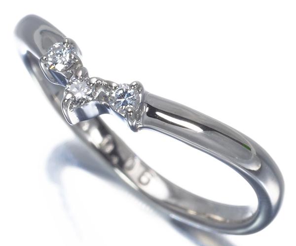 スタージュエリー リング ダイヤモンド 0.06ct 7.5号 Pt900