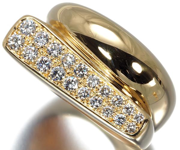 フレッド リング ダイヤモンド サクセス 10号 K18YG