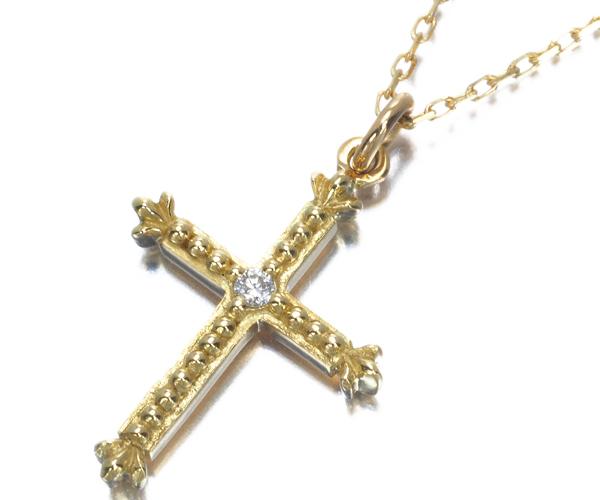 アーカー ネックレス ダイヤモンド クレオクロス K18YG