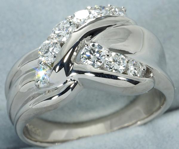 モニッケンダム リング ダイヤモンド 0.53ct Pt900