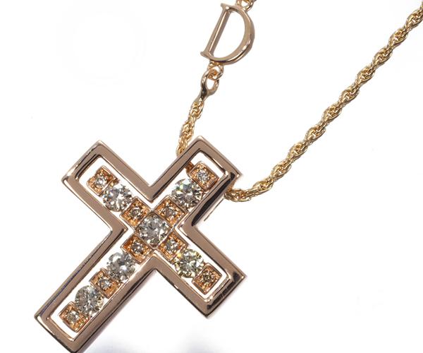 ダミアーニ ネックレス ダイヤモンド ベルエポック クロス K18PG