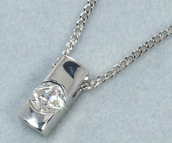 4℃ ヨンドシー ネックレス ダイヤモンド 特殊スターカット Pt850