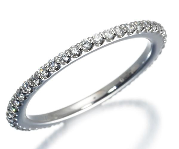 ポンテヴェキオ リング ダイヤモンド 0.31ct フルエタニティ K18WG