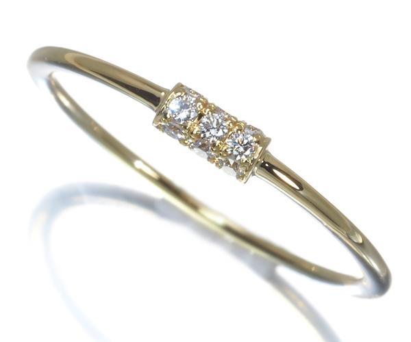 アーカー ヴィヴィアンクチュール ダイヤモンド 0.05ct リング 7号 K18YG
