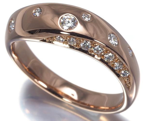 TASAKI タサキ リング ダイヤモンド 0.20ct K18PG