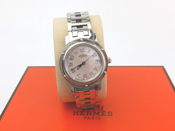 HERMES 時計 クリッパー