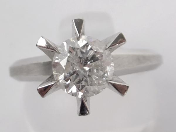 ダイヤモンド  1ct  Pt900 リング